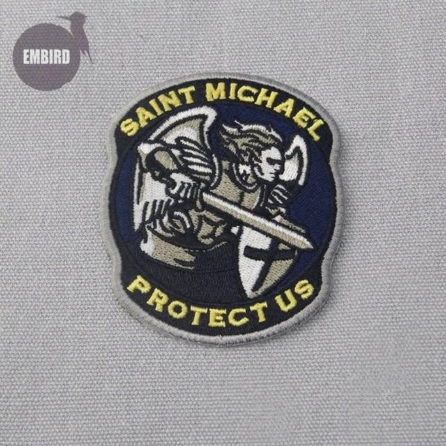 Embird Saint Michael Patch