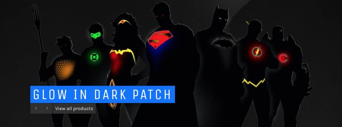 Glow In Dark Patch