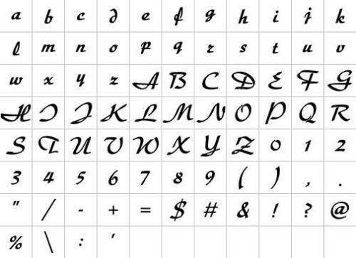 Embird-Alphabets
