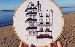 Hand Embroidery - An Architectural Masterclass