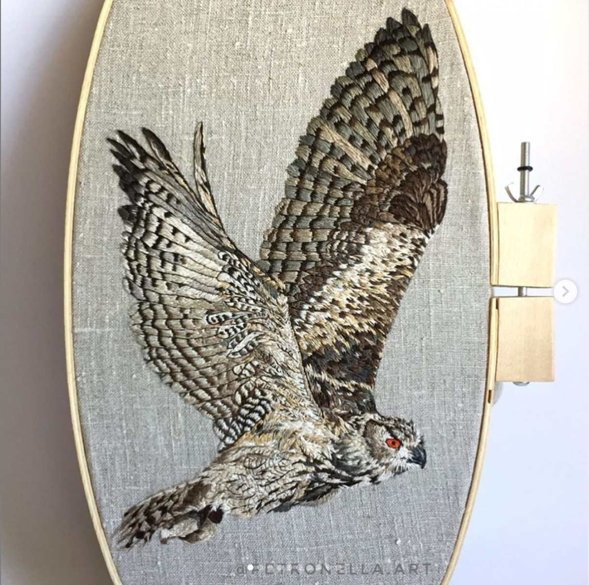 Master-Class-Thread-Painting-Eagle