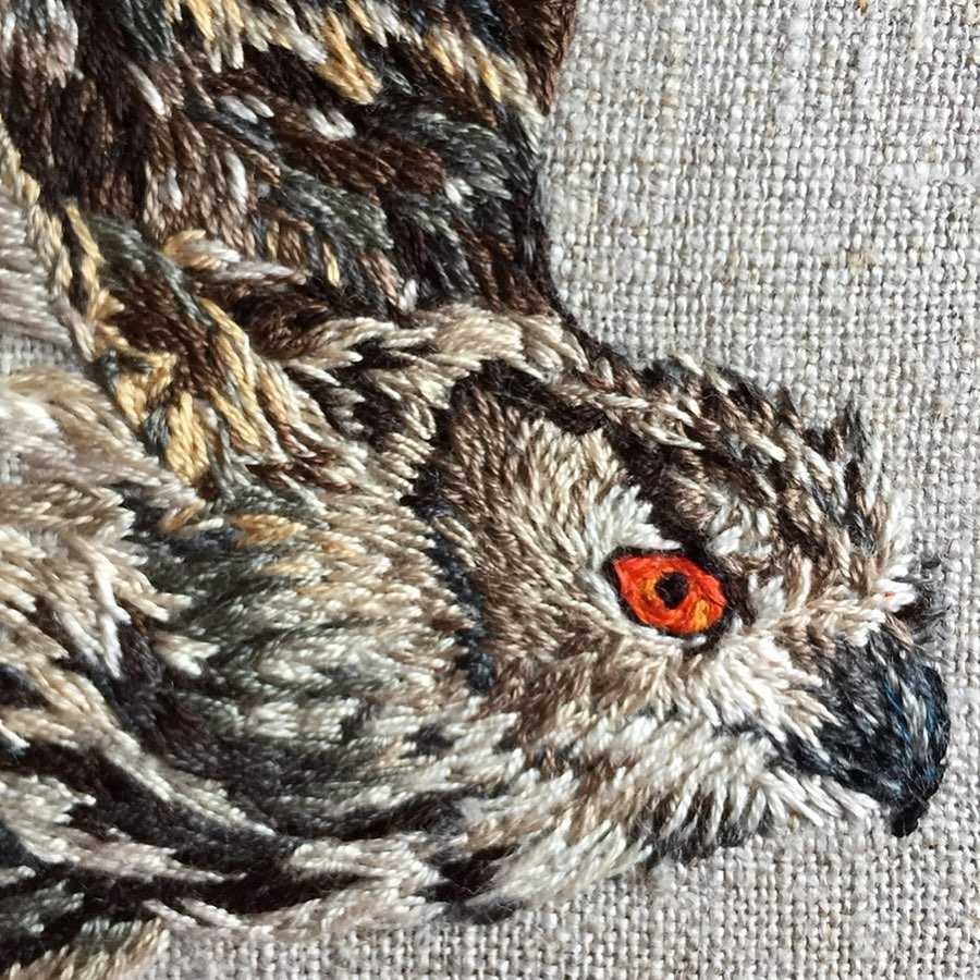 Thread-Painting-Eagle