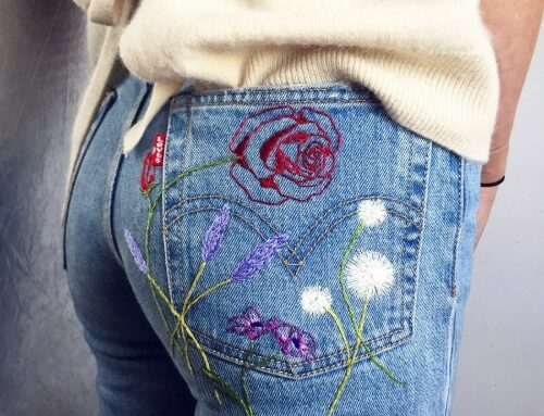 Clothes Embroidery – Embroider Your Clothes Masterclass