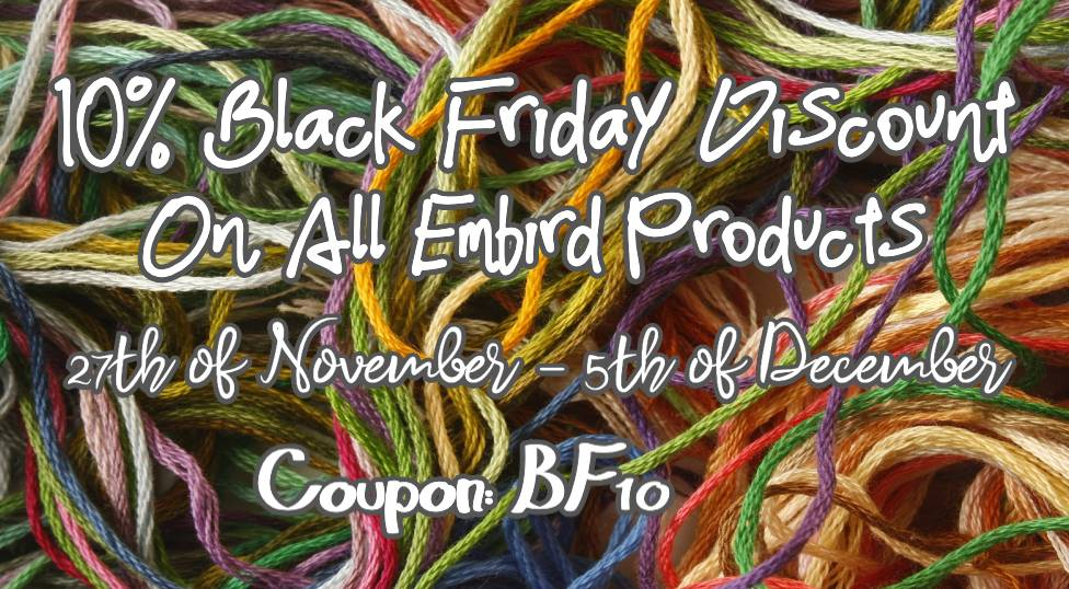 Embird Black Friday Special 2020