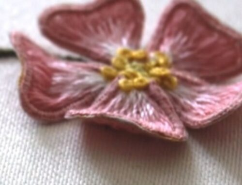 What is stumpwork embroidery – an introductory course