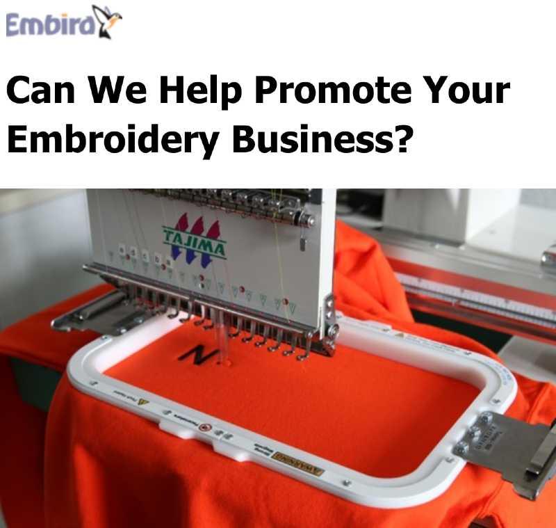 Embird UK Newsletter Example