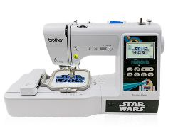 Brother LB5000S Star Wars embroidery machine
