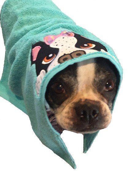 dog hoodie towel